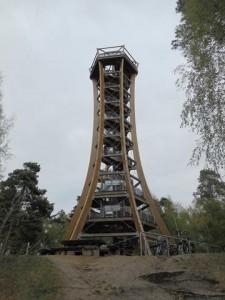 Am Felixsee Aussichtsturm mit Geocache